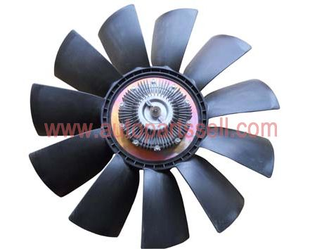 Viscous Fan Clutch With Fan Assembly 1308060-T3100