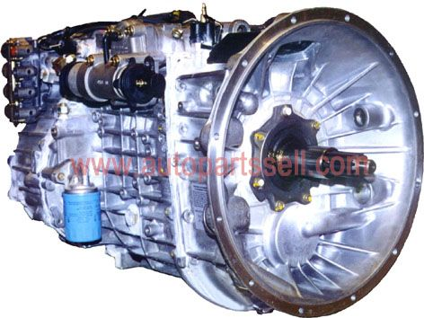 DongFeng T375 Transmission Speed Changer With Clutch System Assembly 1700010-T04K0
