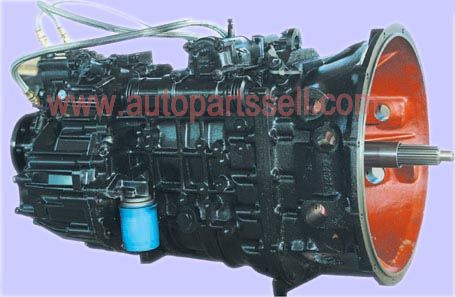 Fast gearbox transmission assembly DC9J150T